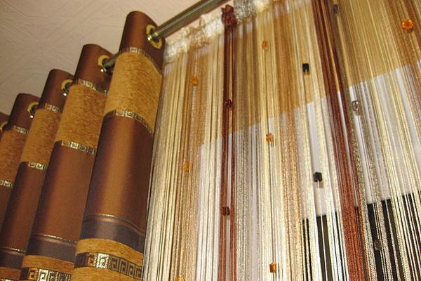 Карнизы для окон и штор, пластиковые