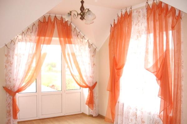 Карнизы для окон и штор, с прозрачной штангой