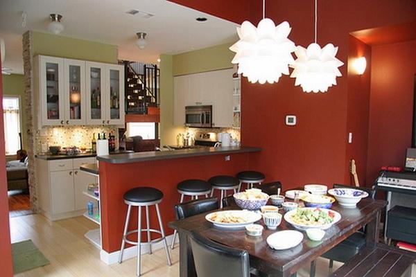 Выбор люстры на кухню