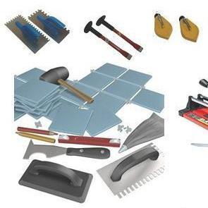 Укладка плитки на пол, инструмент, последовательноть