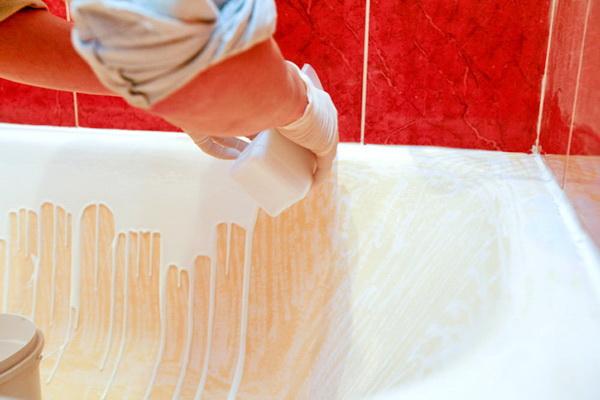 Реставрация ванны, стакрил