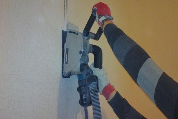 Штробление стен | Электромонтаж - Галерея-услуг