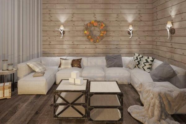 Оформляем интерьер квартиры в стиле Шале за шесть шагов
